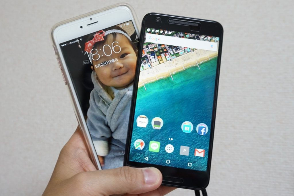 iPhone6S Plus Nexus5X
